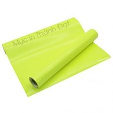 Decal Chuyển Nhiệt In Áo Màu Xanh Neon