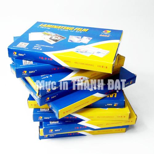 Giấy Ép Plastic Đinh Lượng 37 Mic Khổ A6