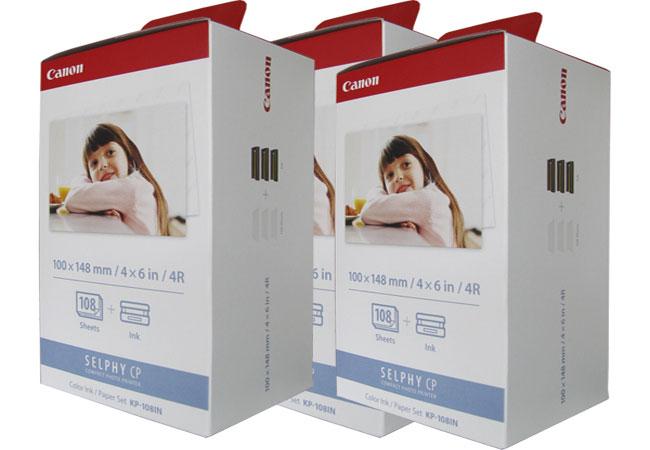 Giấy in ảnh Canon KP 108 là sản phẩm dùng cho nhiều dòng máy in ảnh Canon