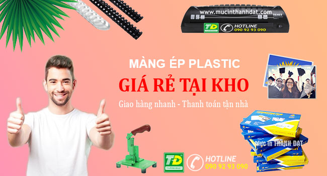Màng Ép Plastic Định Lượng 60 Mic Khổ 13x18