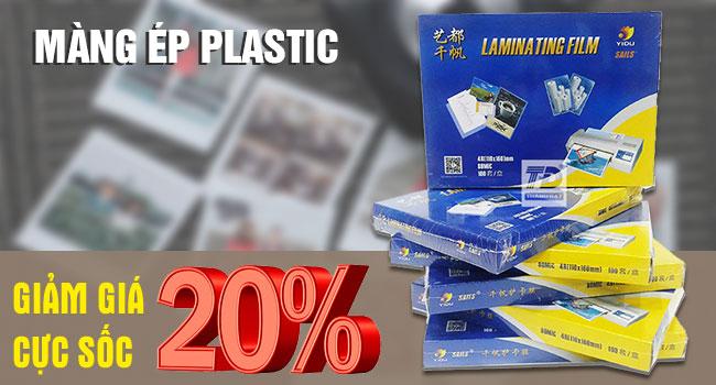 Màng ép Plastic khổ A5 80 Mic Giá Rẻ