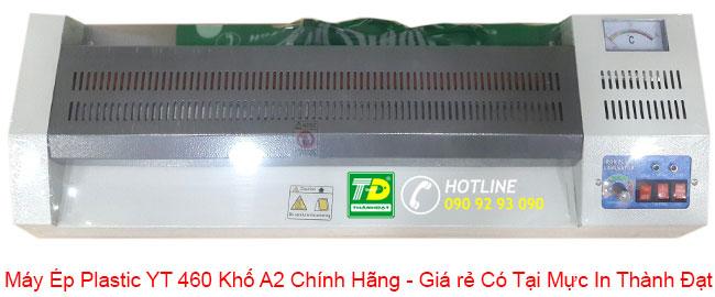 MÁY ÉP PLASTIC YT 460 KHỔ A2