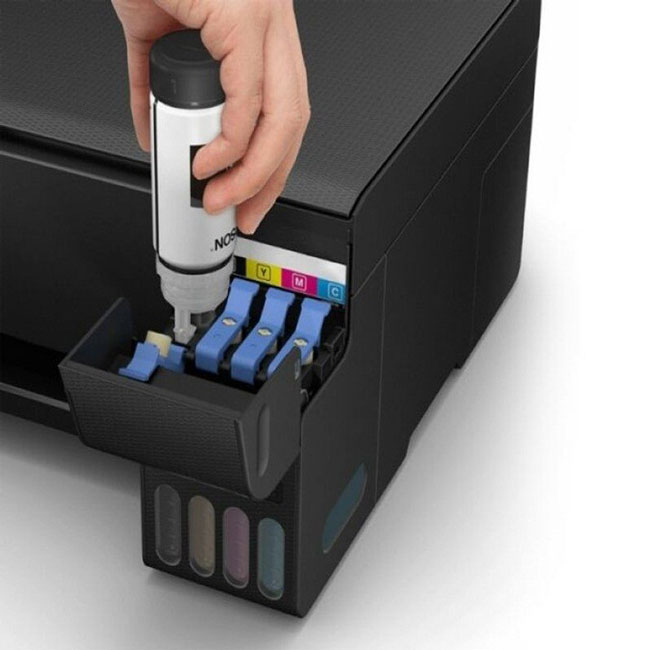 Hệ thống mực in chính hãng giúp tiết kiệm chi phí in ấn