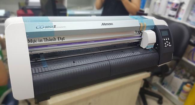 Máy cắt decal Mimaki CG 60 SRIII có độ bền vượt trội